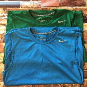 {Nike} Dri-fit sleeveless tank top